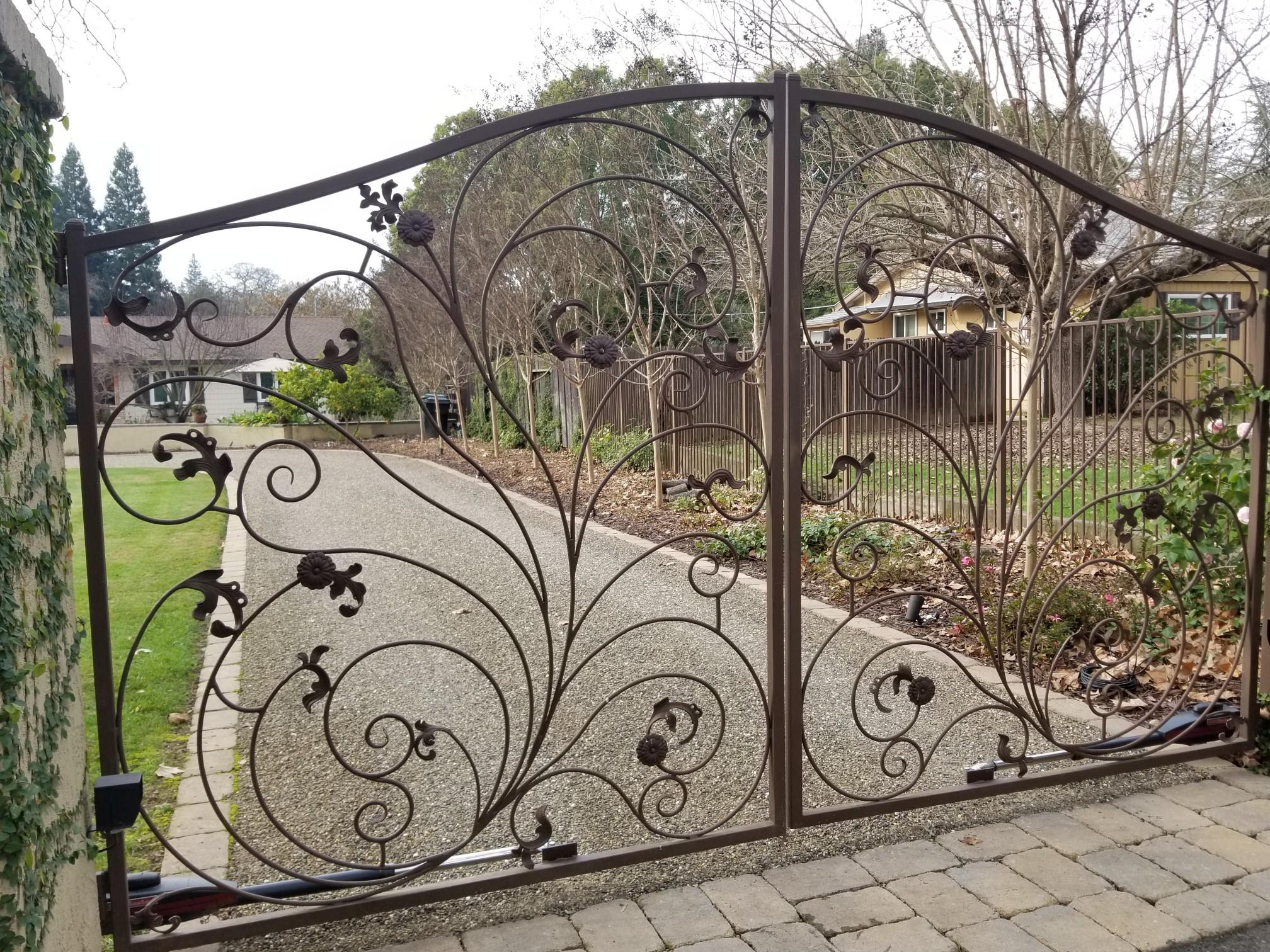 Custom Design Metal Gate