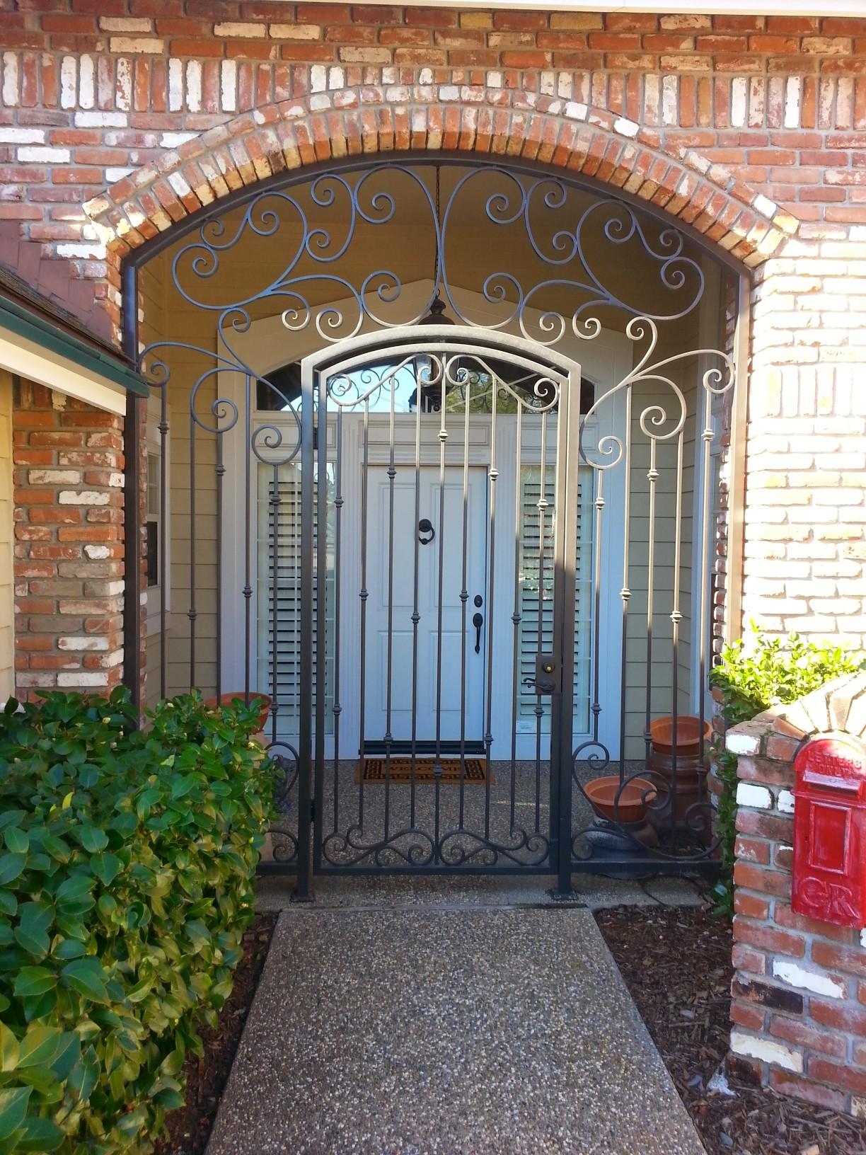 Front Door Metal Gate