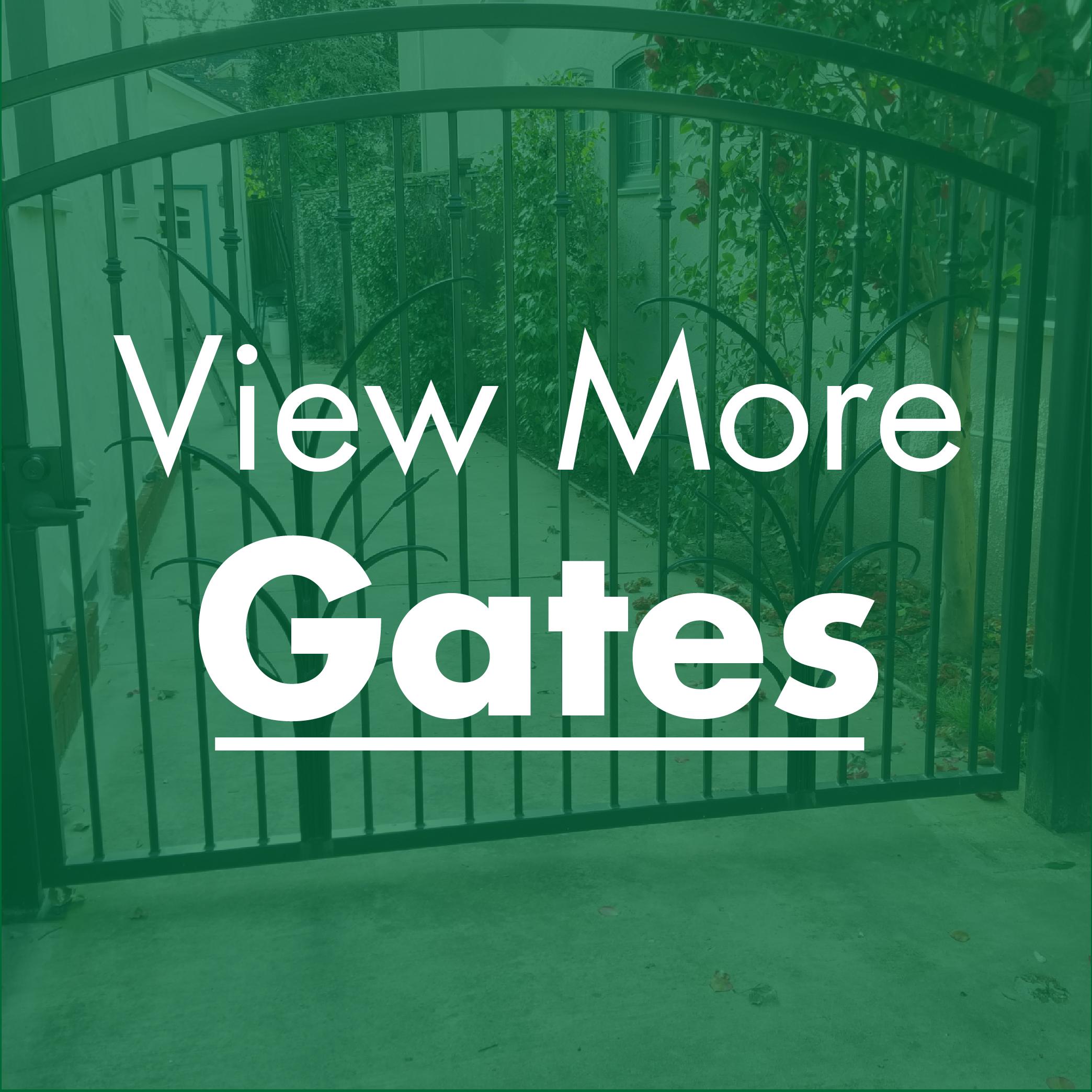 Handcrafted Metal Gates Sacramento