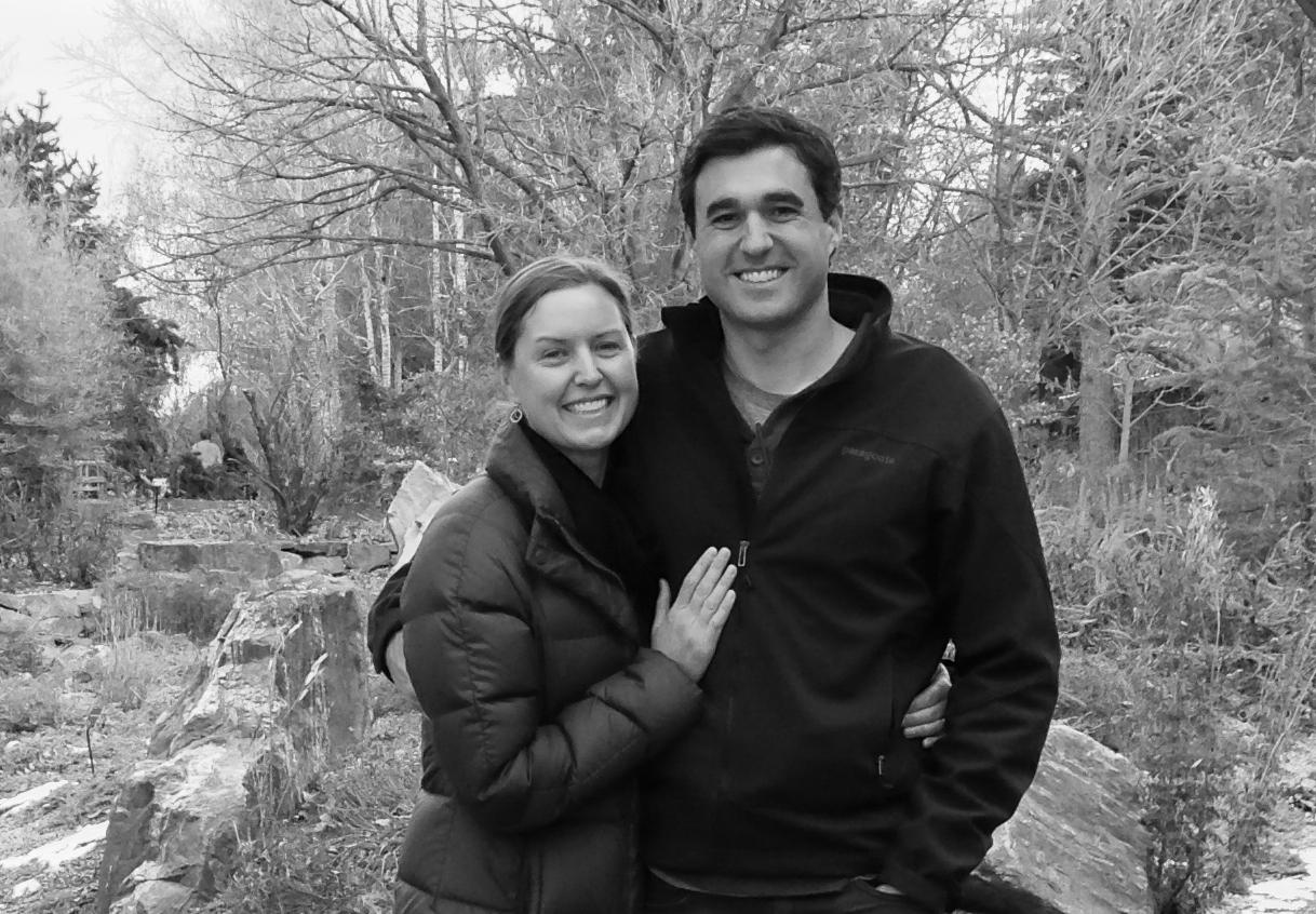 Cass &Dave at the Denver Botanic Gardens