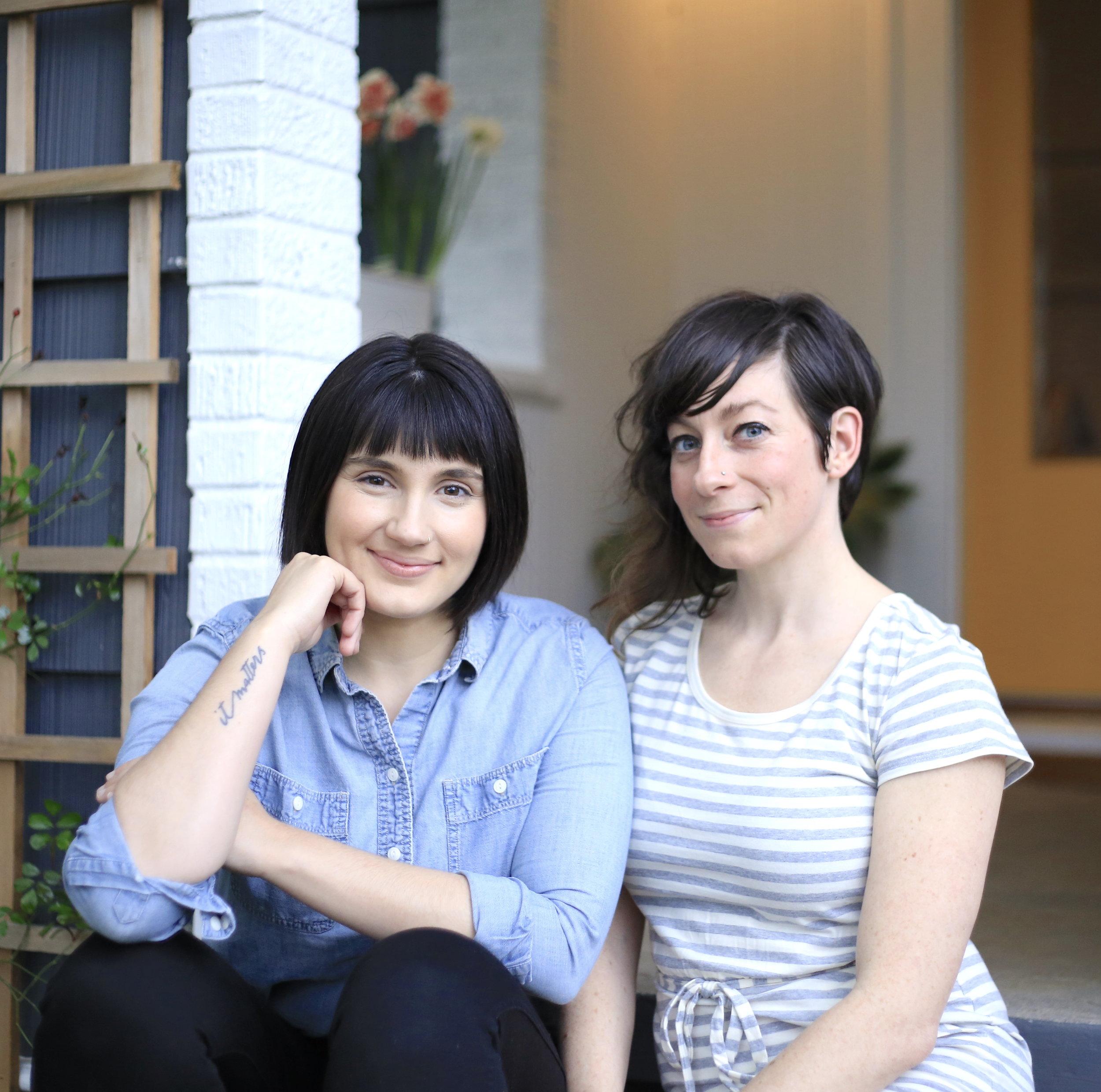 Home Organizers Mackenzie Gray and Alissa Fuchs