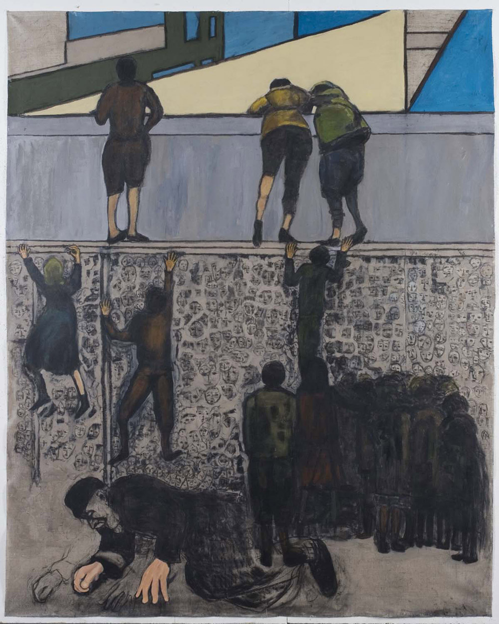 5.-Ono-Warsaw-Ghetto-Uprising-Give-Us-Our-Daily-Bread-2010.-Charcoal-and-acrylic-on-canvas-2.13-x-1.7-m-x.jpg