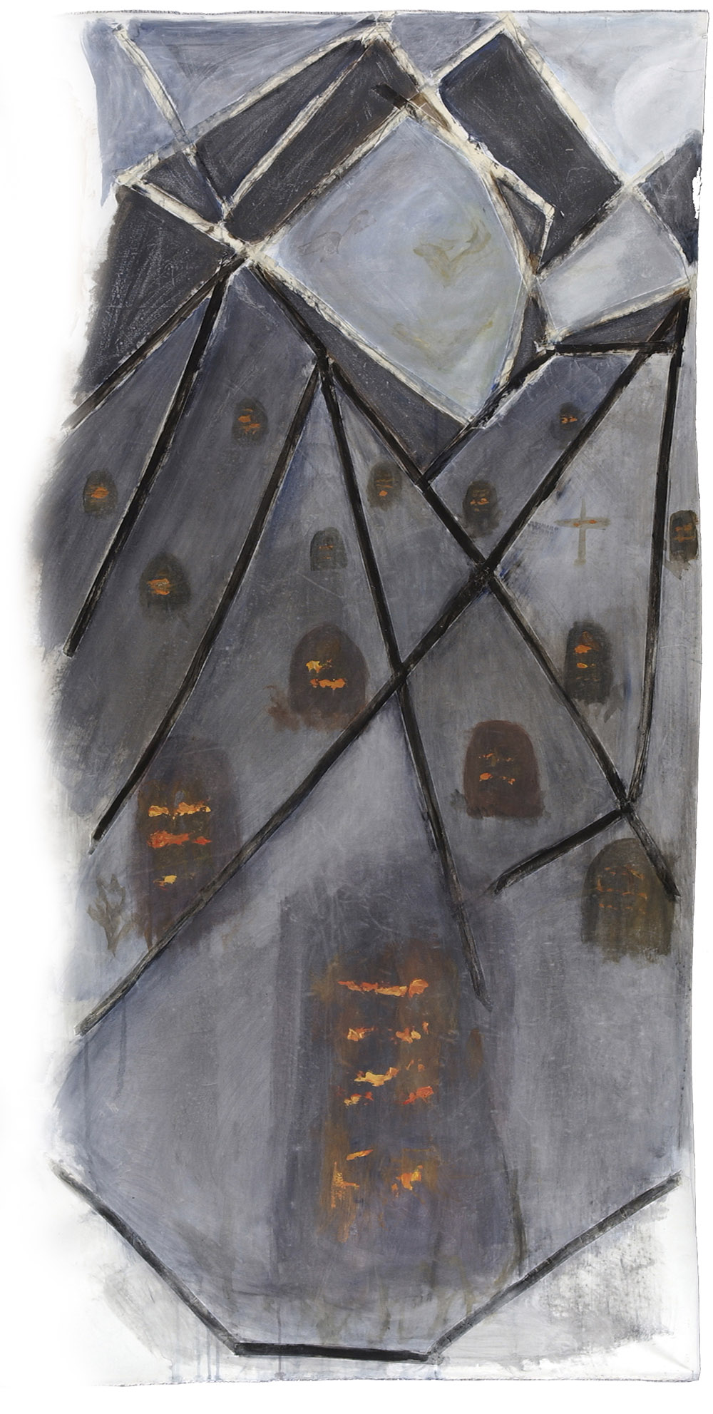 6.f-Ono-Cemetery-2008.-Acrylic-on-canvas-approx.-2-x-1.1-m-x.jpg