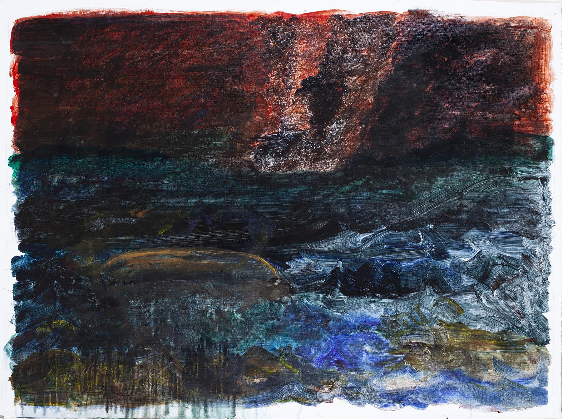 7.) Ono, Boat Sinking. 2018.  Acrylic on canvas, 38.25 in x 53 in (97.2 cm x 134.6 cm) copy.jpg