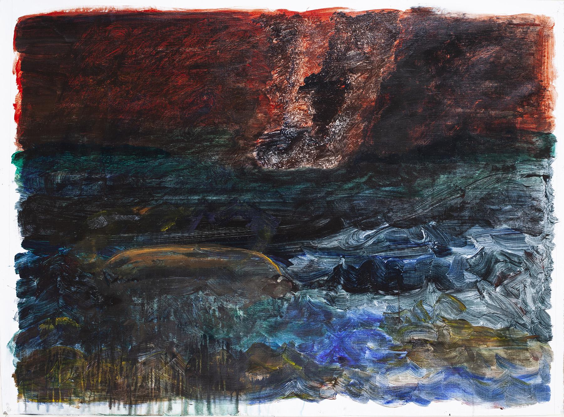 8.) Ono, Boat Sinking. 2018.  Acrylic on canvas, 38.25 in x 53 in (97.2 cm x 134.6 cm) copy.jpg