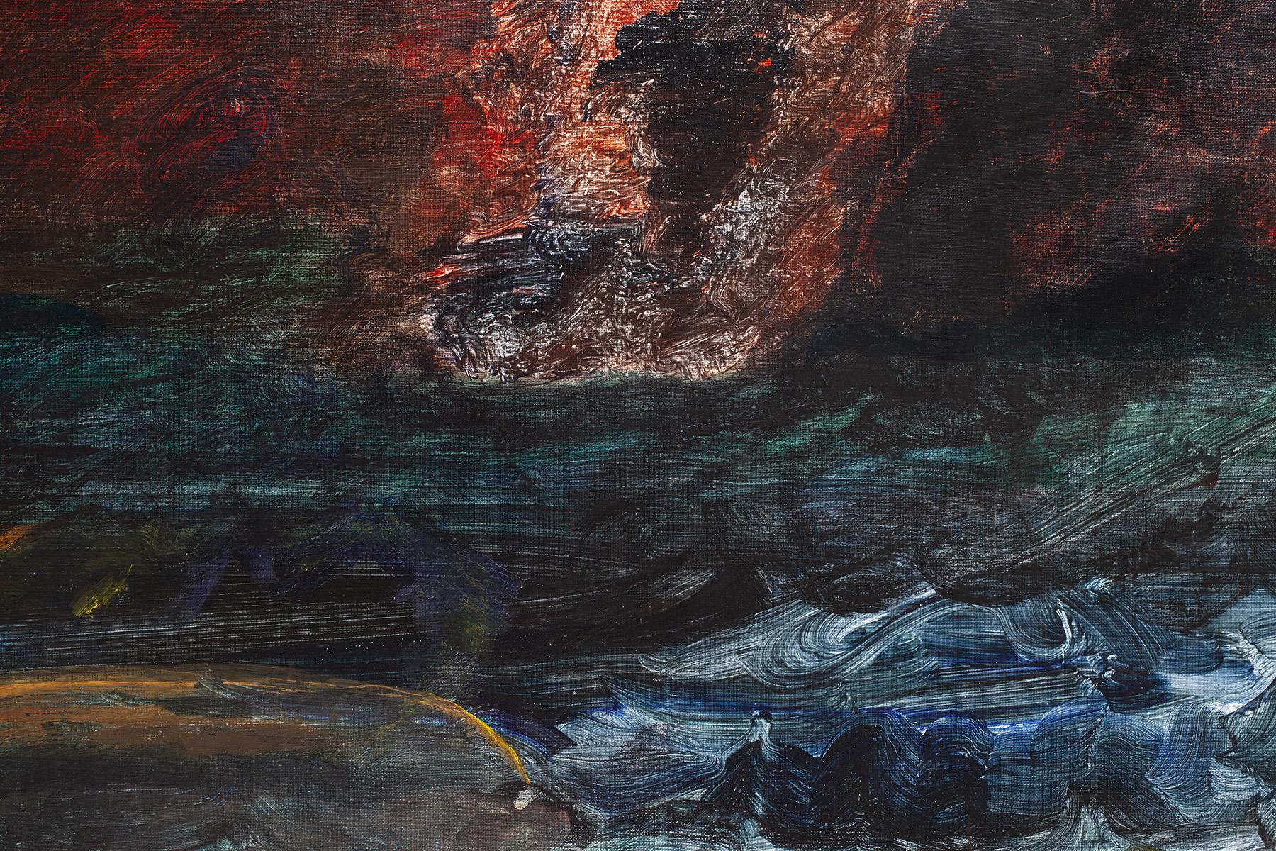 9.) Ono, Boat Sinking. 2018.  Acrylic on canvas, 38.25 in x 53 in (97.2 cm x 134.6 cm) copy.jpg