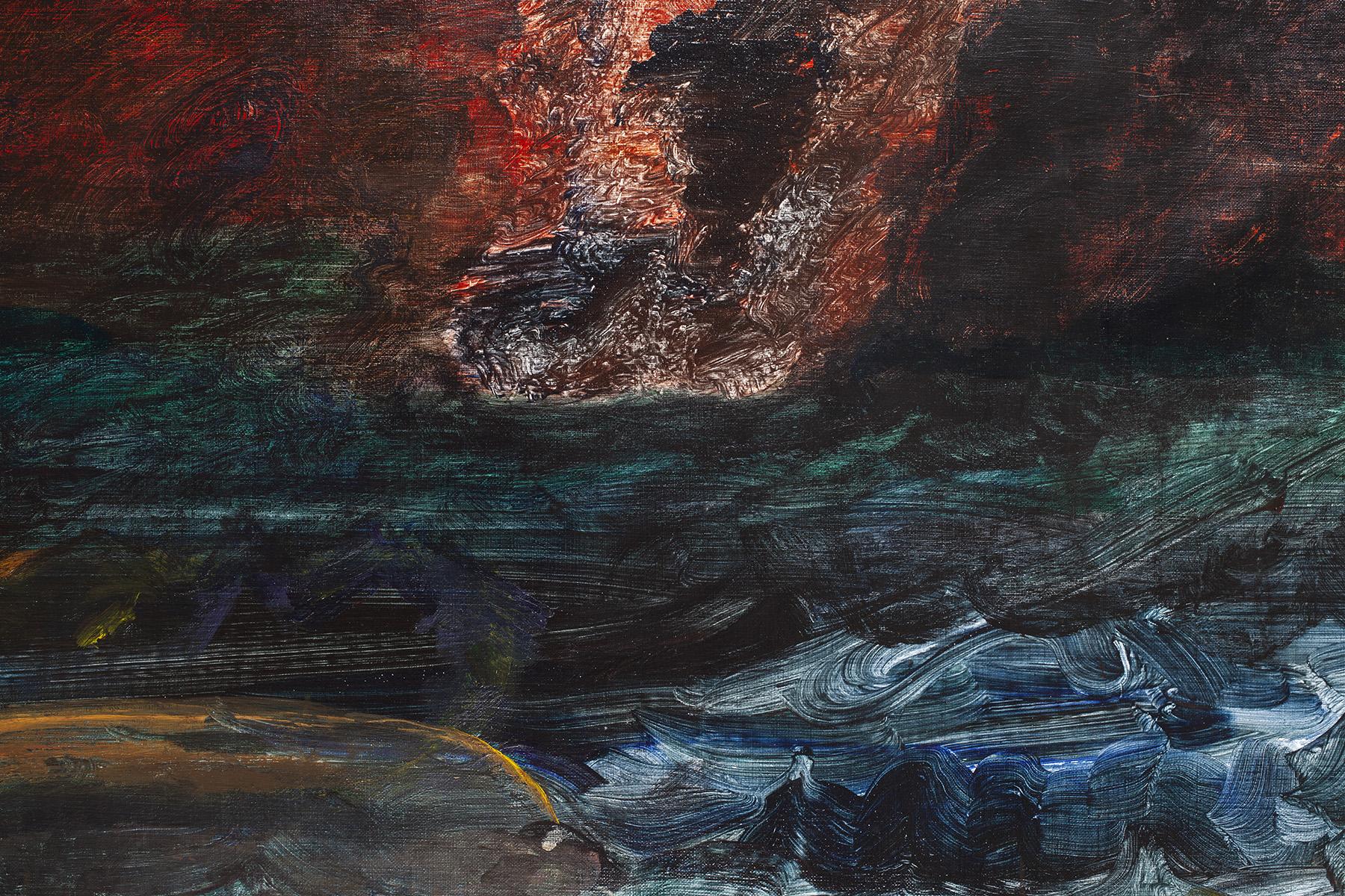 10.) Ono, Boat Sinking. 2018.  Acrylic on canvas, 38.25 in x 53 in (97.2 cm x 134.6 cm) copy.jpg