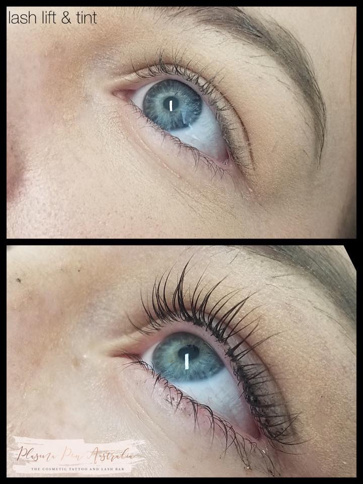 Lash Lift & Tint - beautiful lashes that are your own.Lasts 6-12 weeks the term of your natural lashes.$75