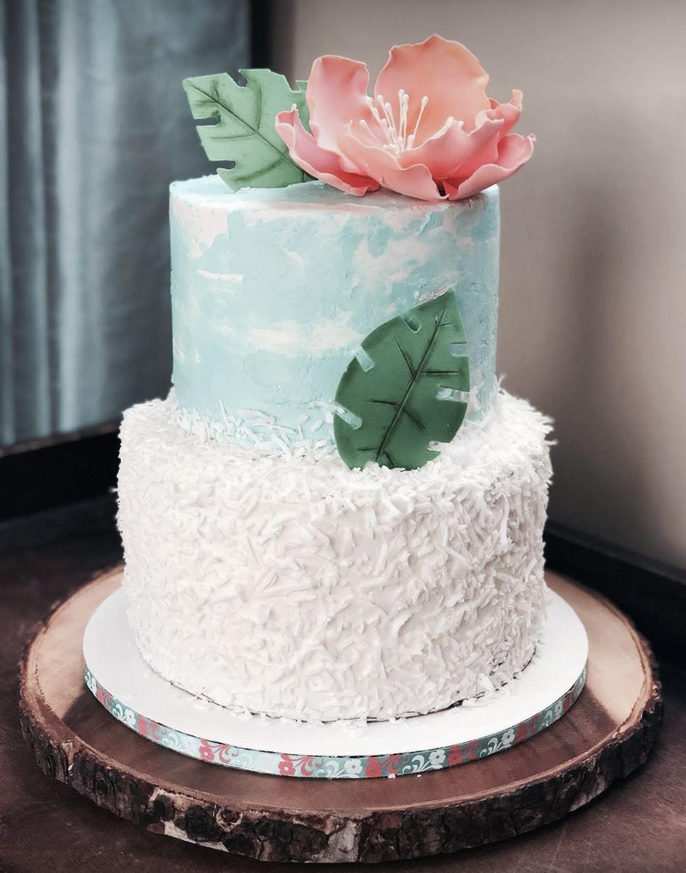 Tropical buttercream Celebratory Cake