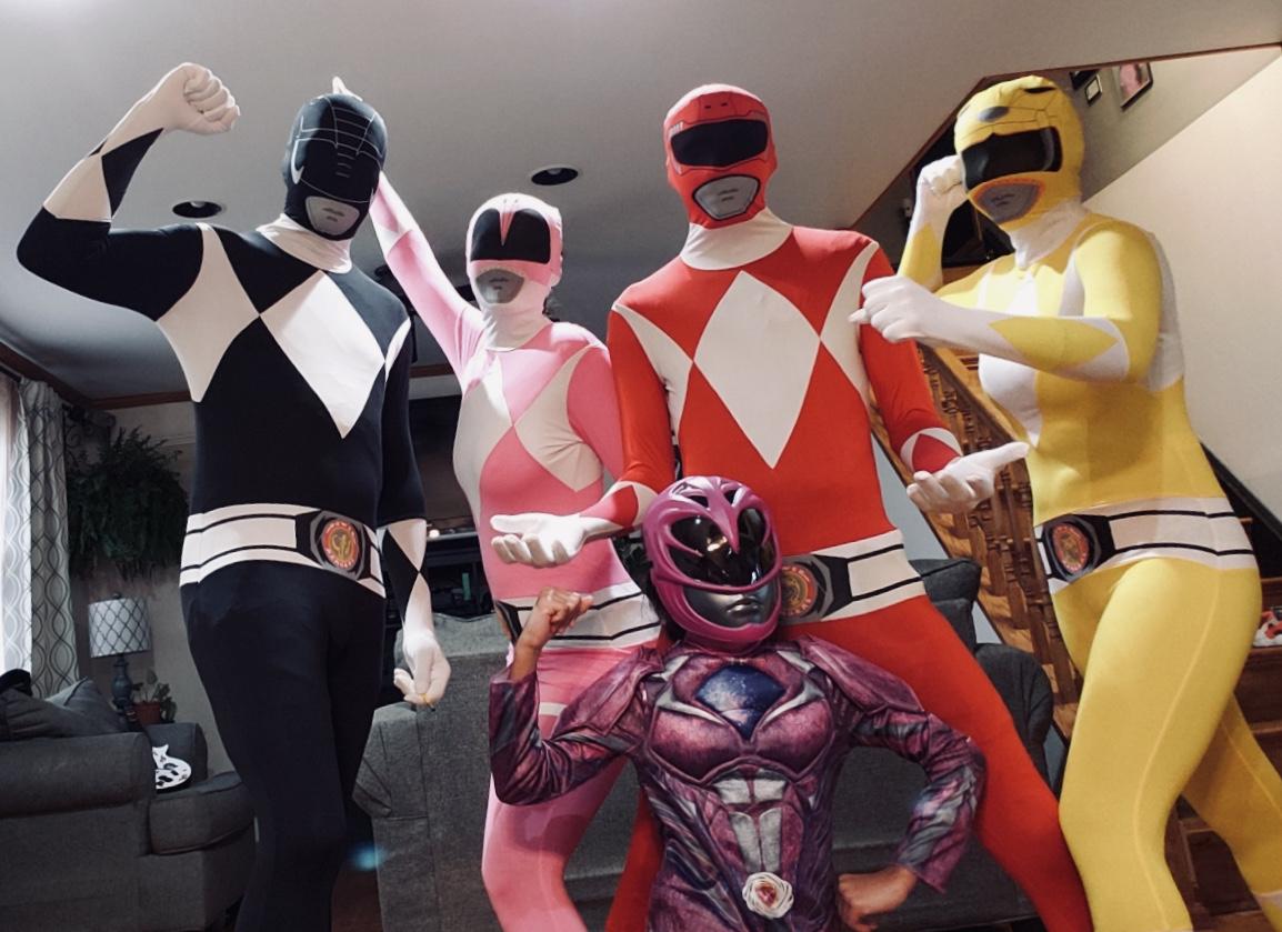 Halloween 2018: Power Rangers