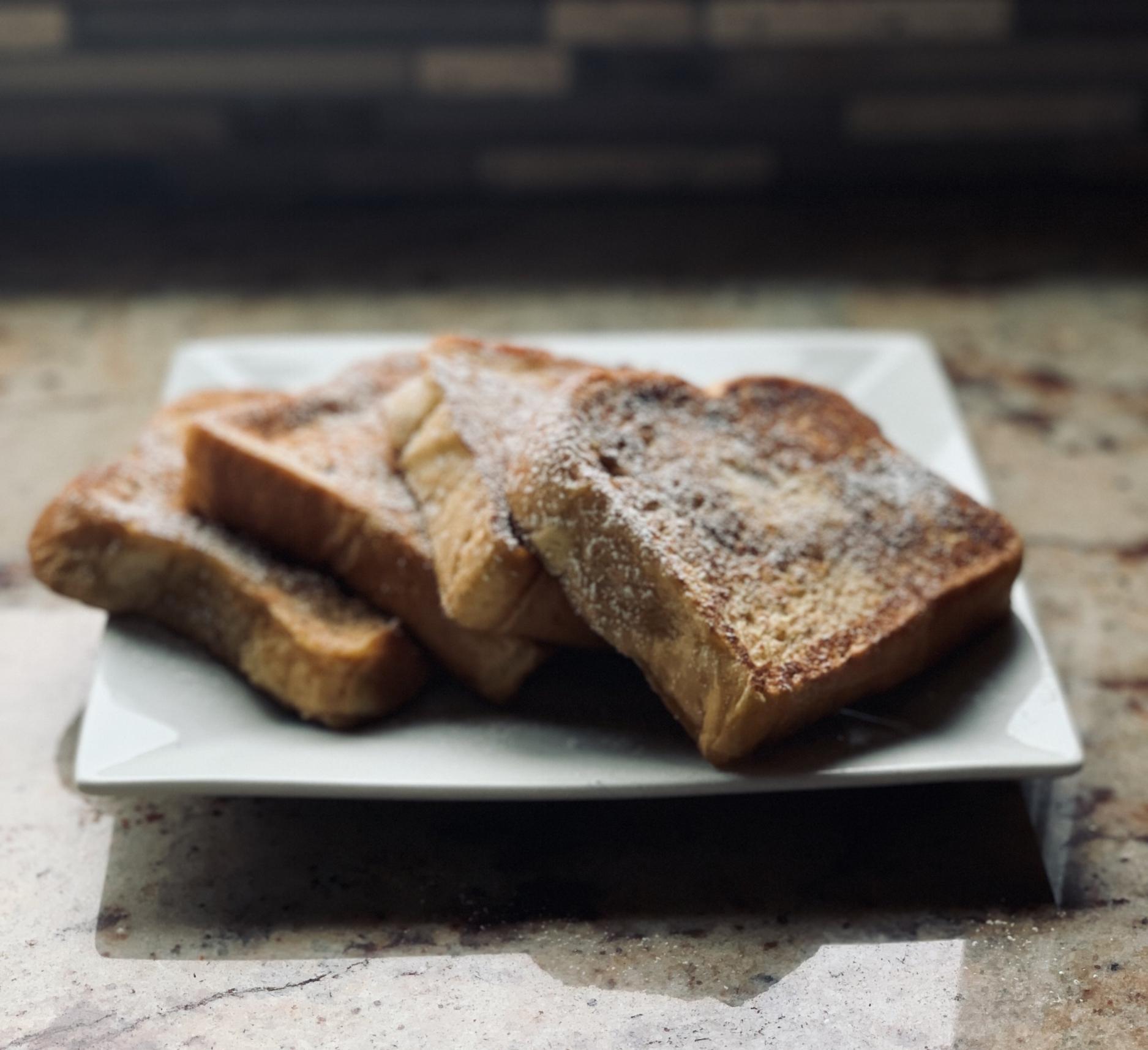 French Toast with brioche bread