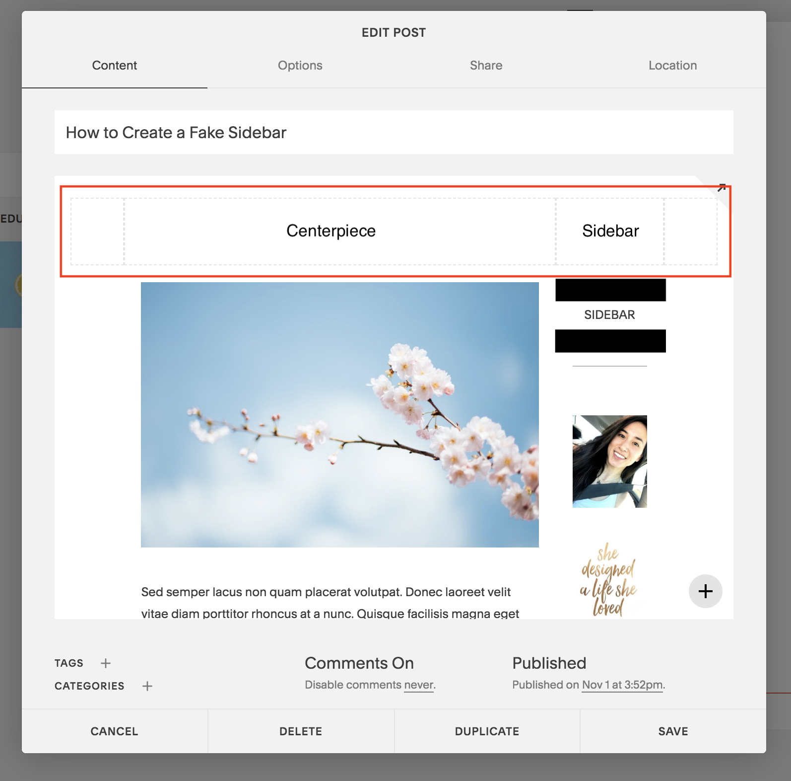 new sidebar on squarespace template without sidebar .png