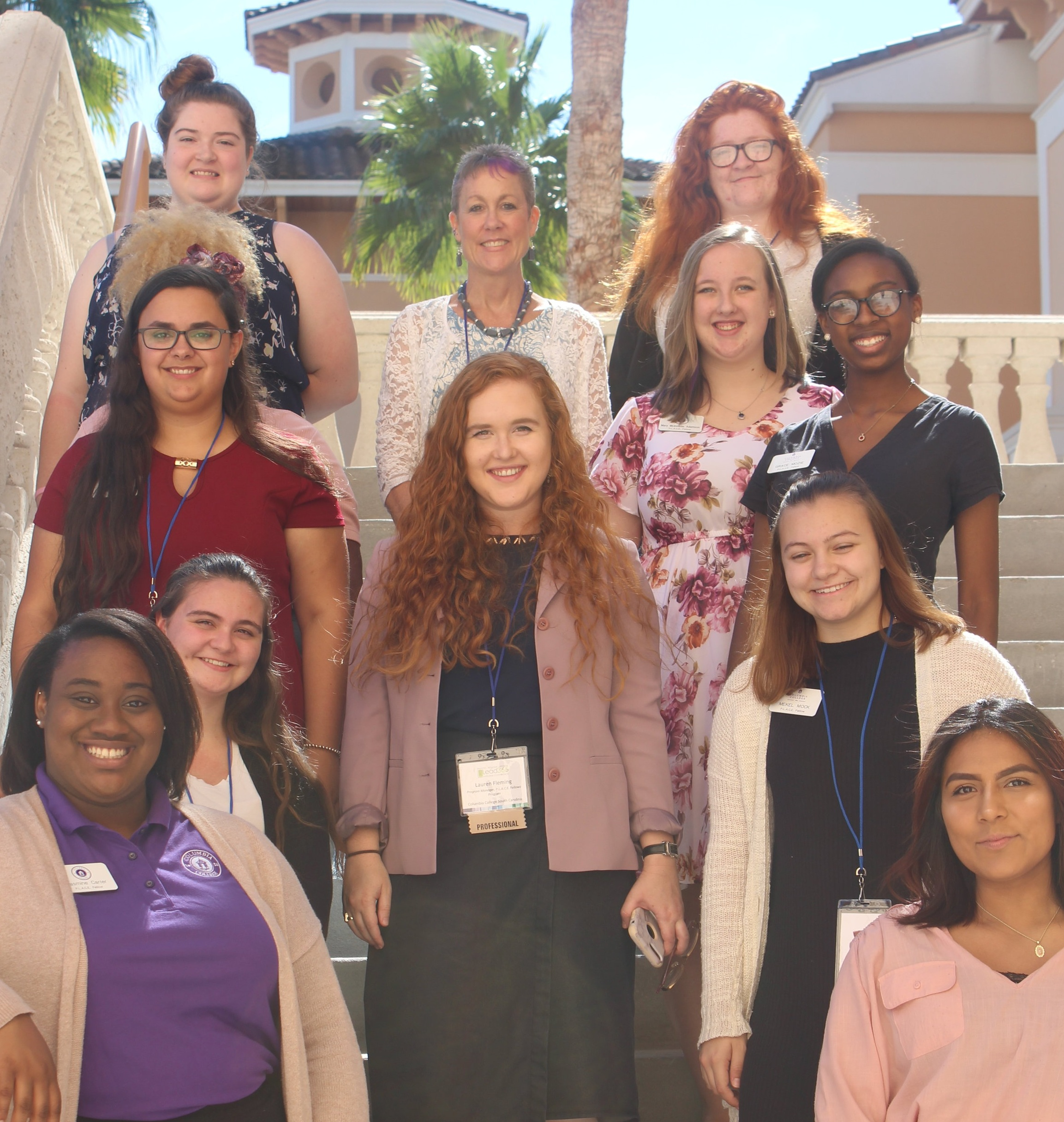 Leadership Scholars from Columbia College, South Carolina