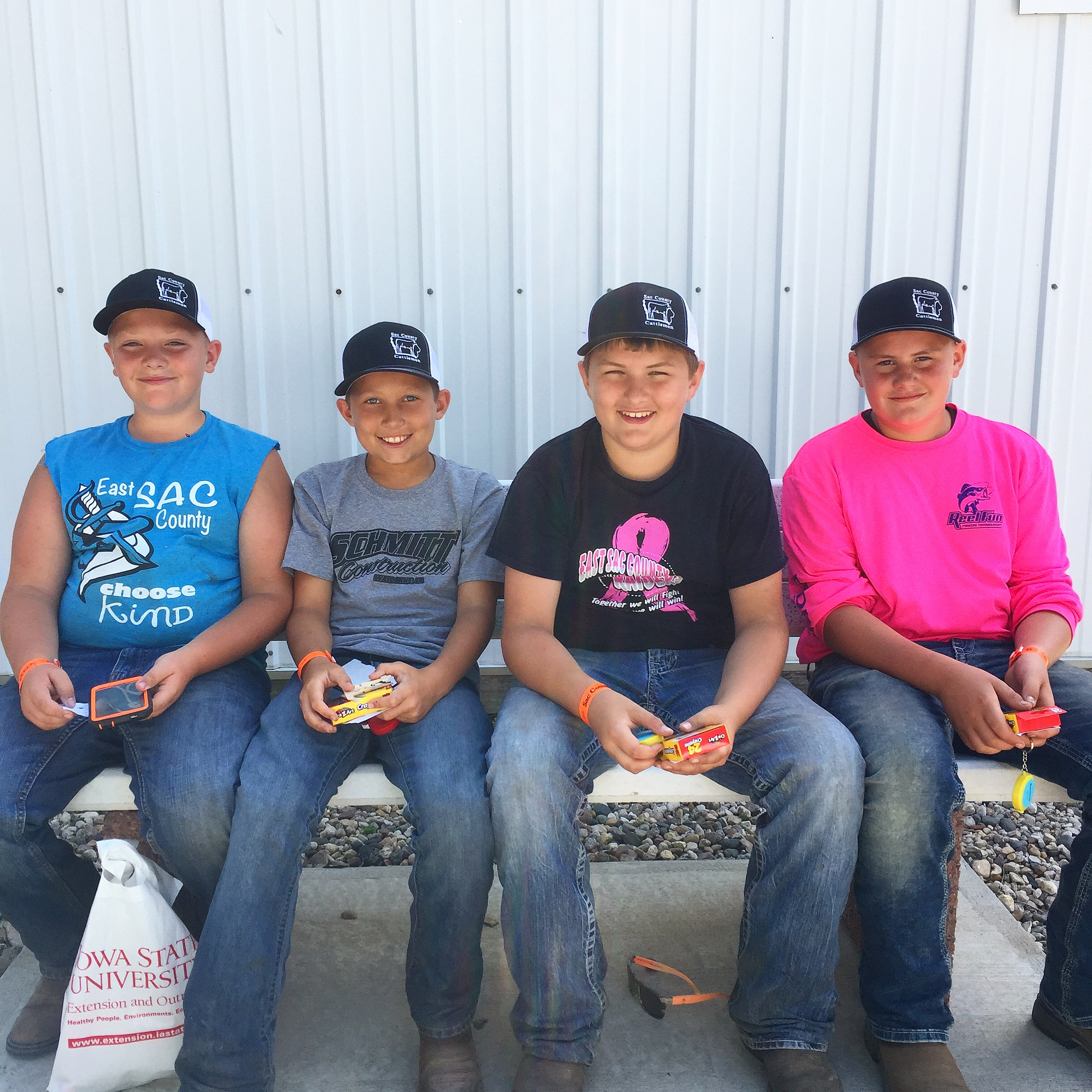 The next generation of Sac County Cattlemen
