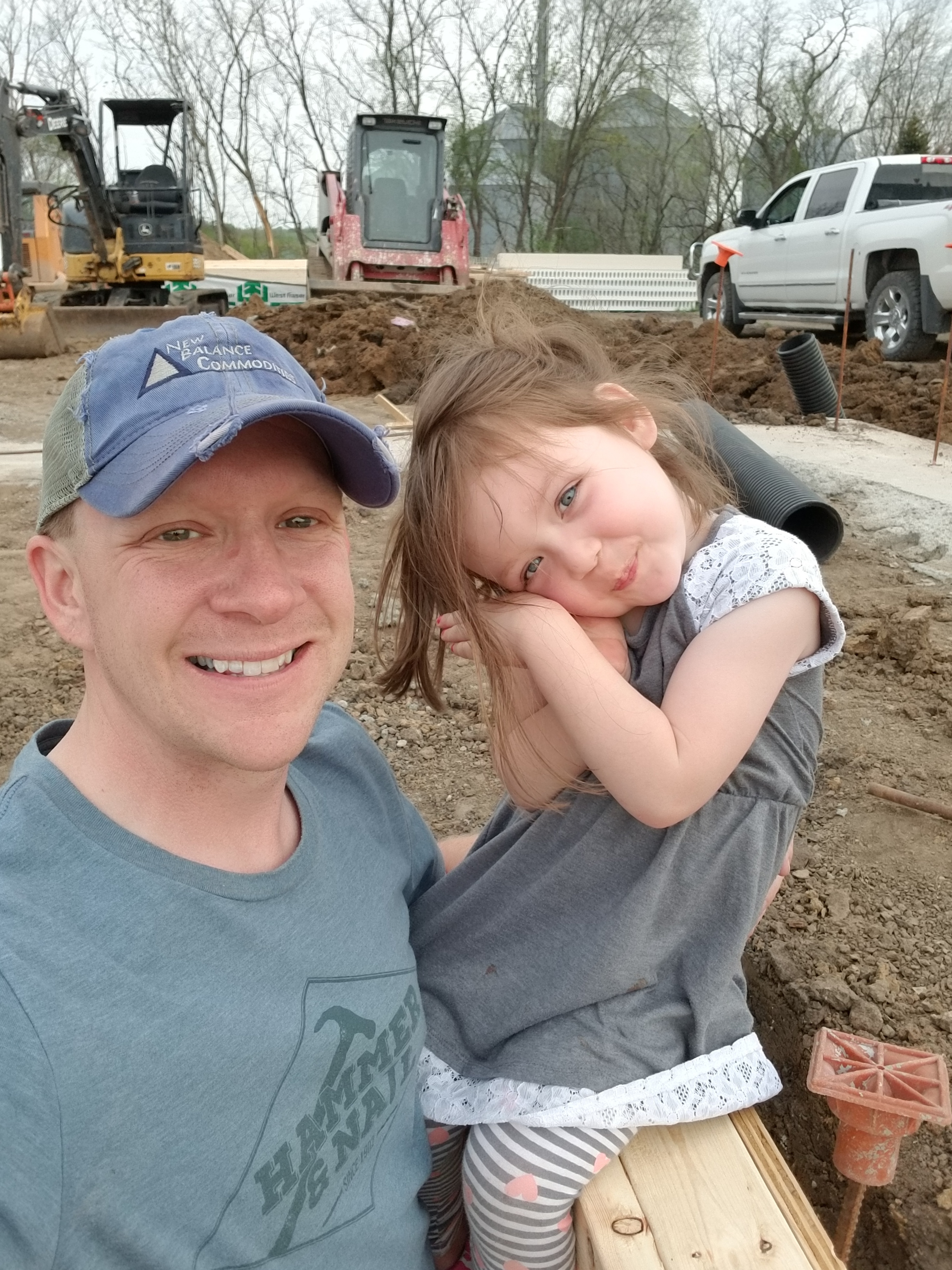 Our kids, especially Reese, loved watching the construction of our car wash.