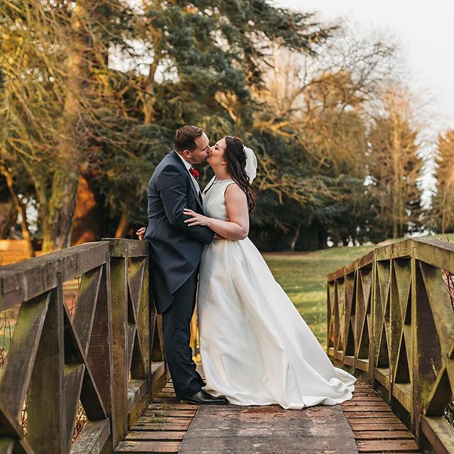 The awesome Victoria and Christopher on their wedding day @aldwarkmanor 😁