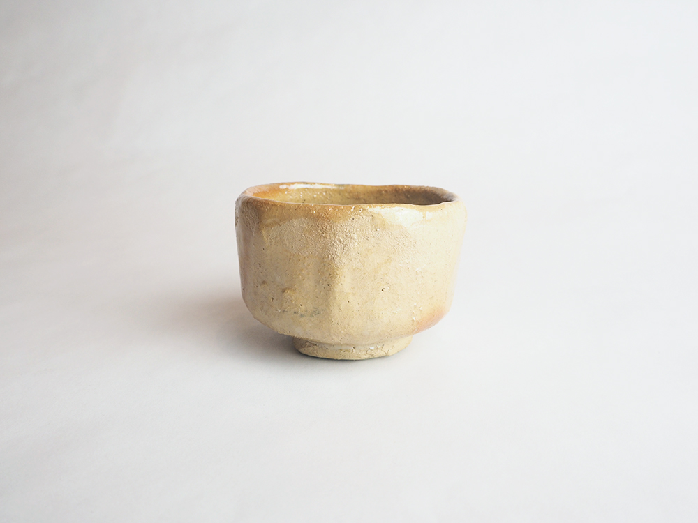 TSUDA Tomoko Yellow Sake Cup2.jpg
