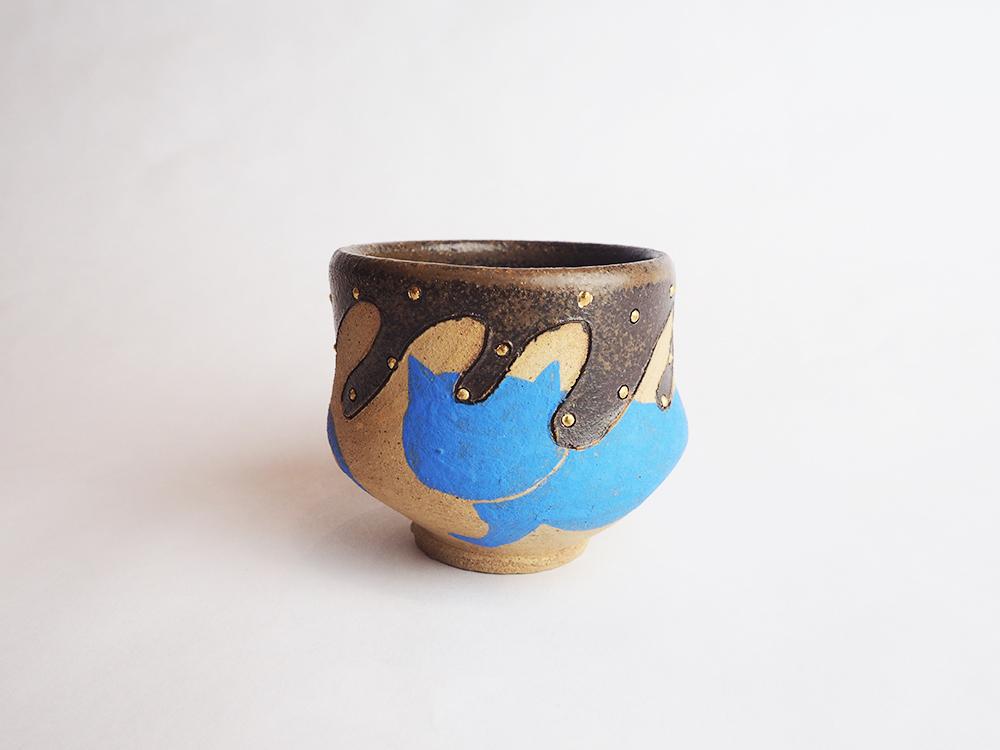 TSUMORI Aiko   Cat Sake Cup