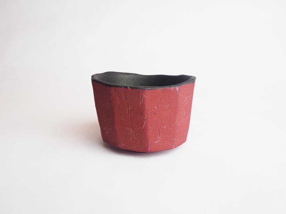 YAMADA Akira | Red Sake Cup