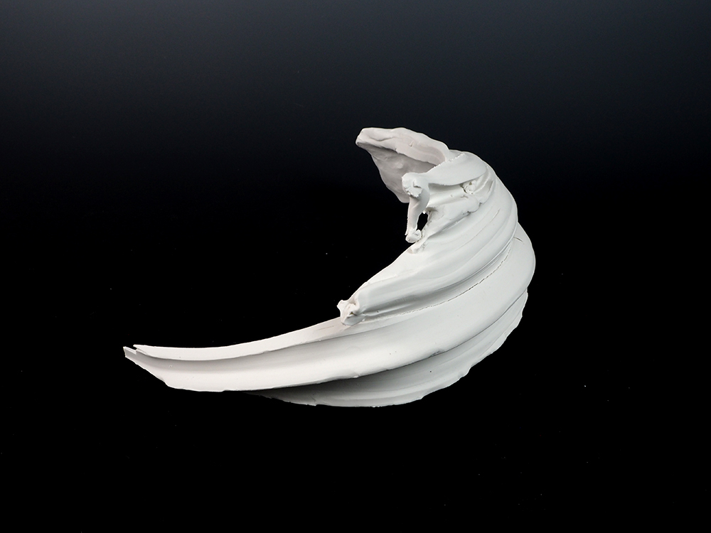 KATO Tsubusa Porcelain Sculpture %22Syowashinzan-Moon%22 No.8-2.jpg
