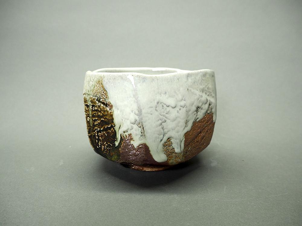 NISHIHATA Tadashi Ash Glazed White Tea Bowl1.jpg