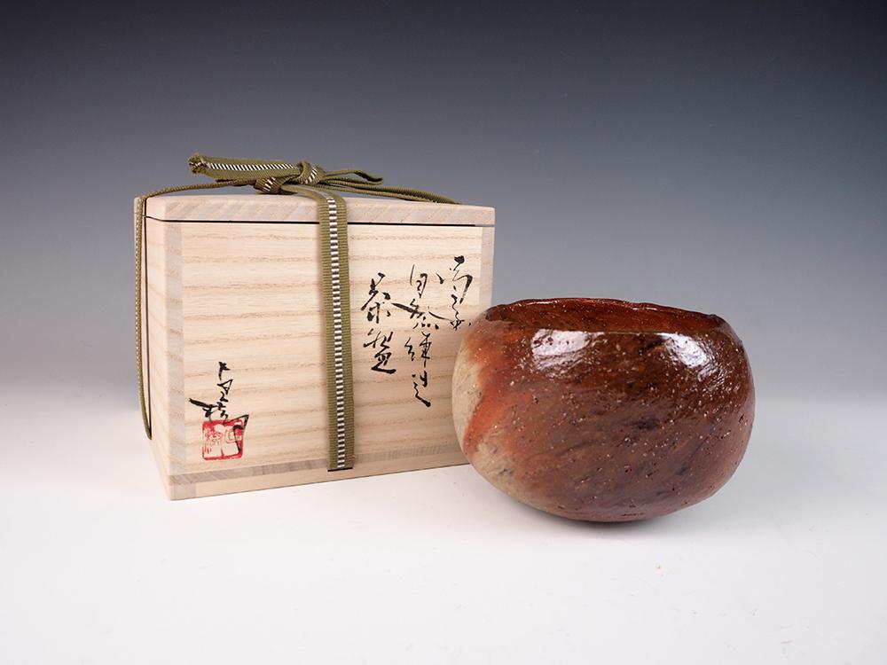 YOKOYAMA Naoki Bizen Tea Bowl-2.jpg