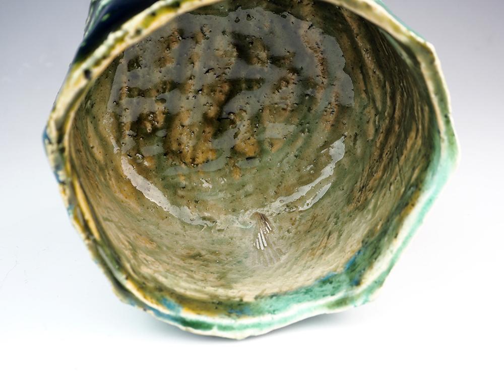YAMAGUCHI Masato Oribe Tea Bowl-4.jpg