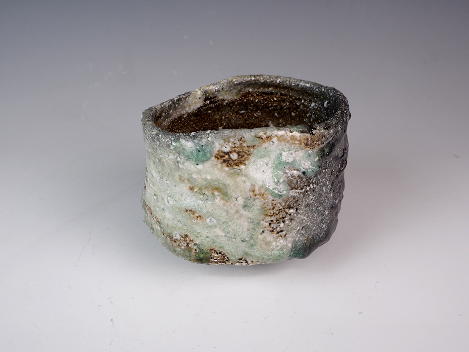 SAWA Katsunori Shigaraki Tea Bowl-1.jpg