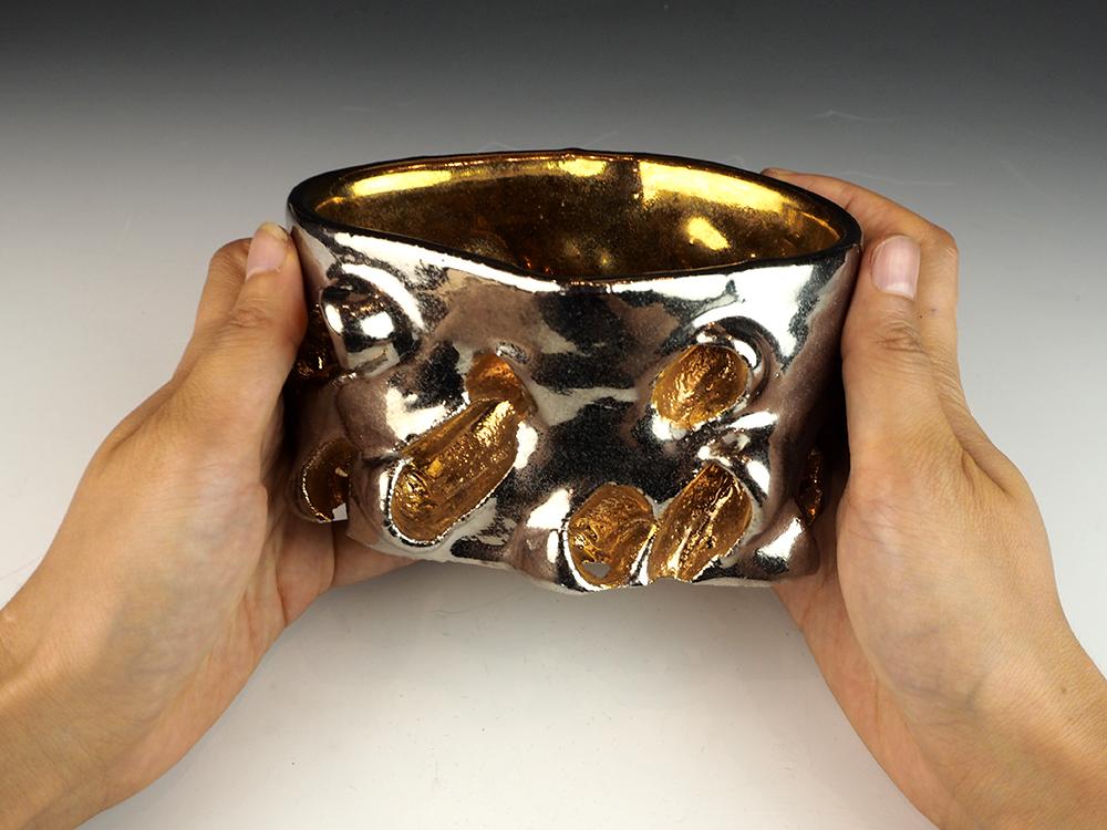 ISHIYAMA Tetsuya-gold dimple bowl-5.jpg