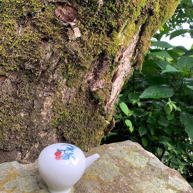 山青、水秀、地吉、人善 #台灣、#林文昭、#blue & white,#sometsuke; #inkpainting; #serenity;#nature