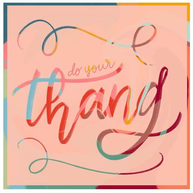 Do your *own* thang🕺🏻 This is just a random piece I did last night, I wanted to play with the liquify tool and my eraser and this is what I got🤷🏽‍♀️ • • • • • #procreateartist #procreatedesign #ipadlettering #letteringcommunity #letteringco #letteringartist #letteringleague #letteringdaily #goodtype #typematters #typegang #womenofillustration #typetopia #strengthinletters #thedailytype #customhandlettering #motivationnation #letteringleague #calligrafriends #typism #createdtoday #showusyourtype #typeeverything #handdrawntype #communityovercompetition