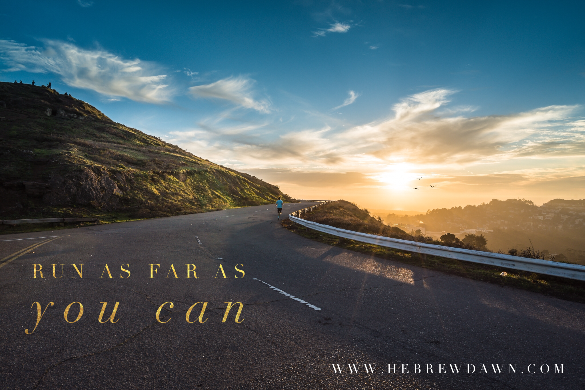 HebrewDawn: Hitting the Road by Foot - Running 101
