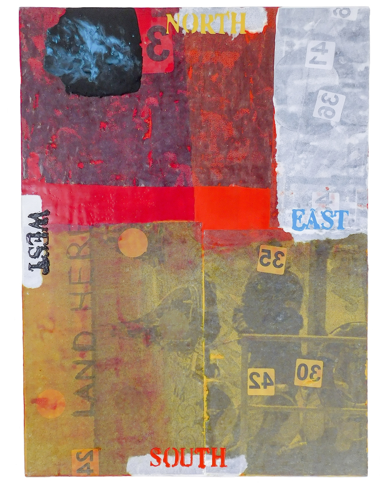 Randal-Arvilla-All-Compass-Points-Encaustic-Collage