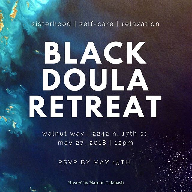 We still have a few spots open for our Black Doula Retreat here in Milwaukee!  It will be a day of community building and relaxation.  DM me for the registration link!  #blackdoula #doula #birth #milwaukee #pregnancy #postpartum #birthwork #walnutway