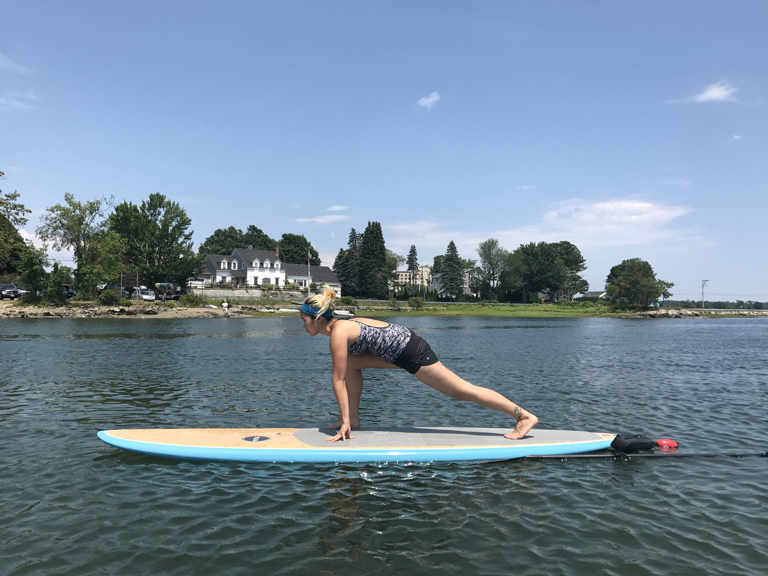 Private Paddle Board Yoga Class