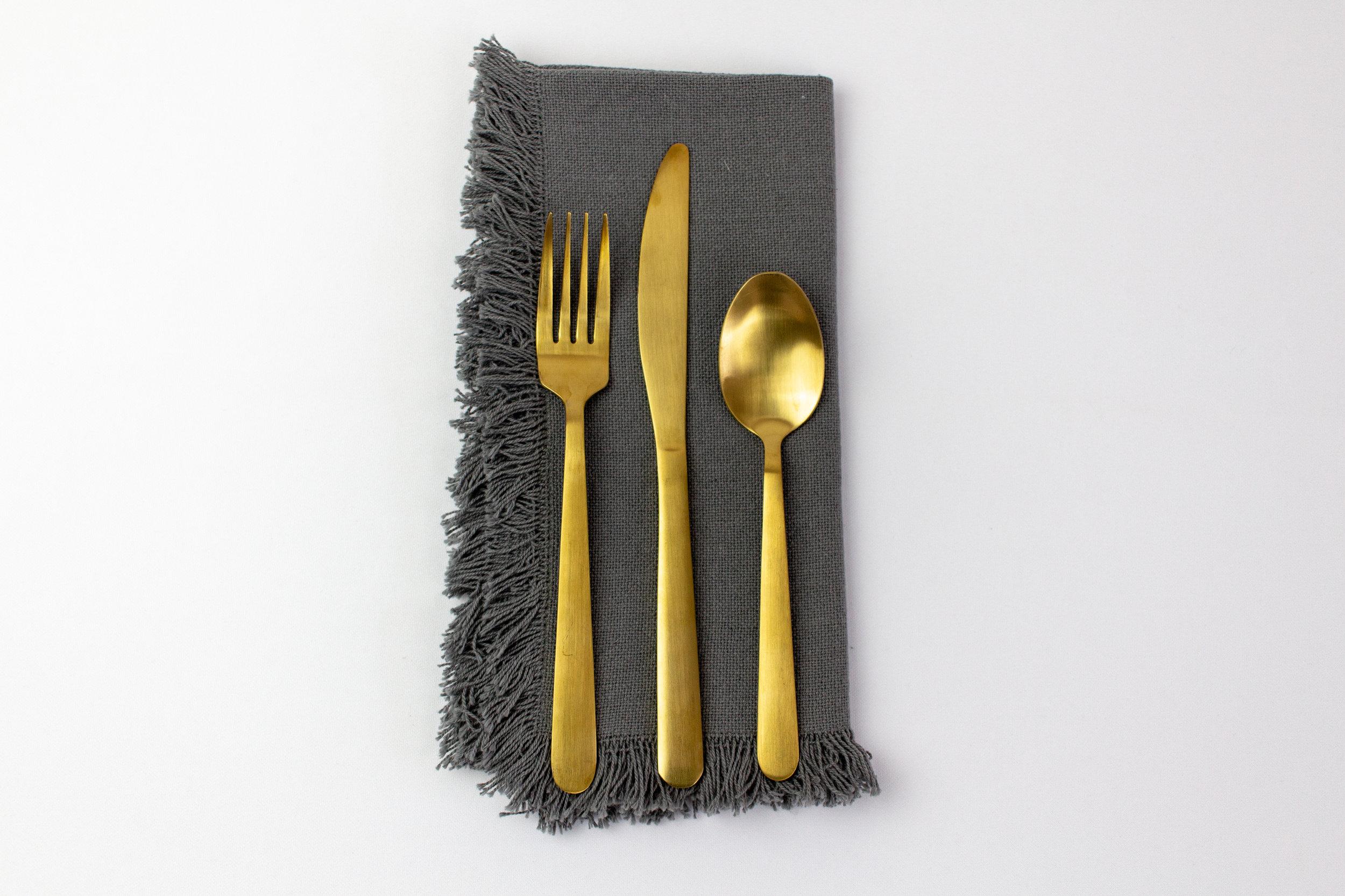 Gray Broom Napkin with Gold Stemware.jpg