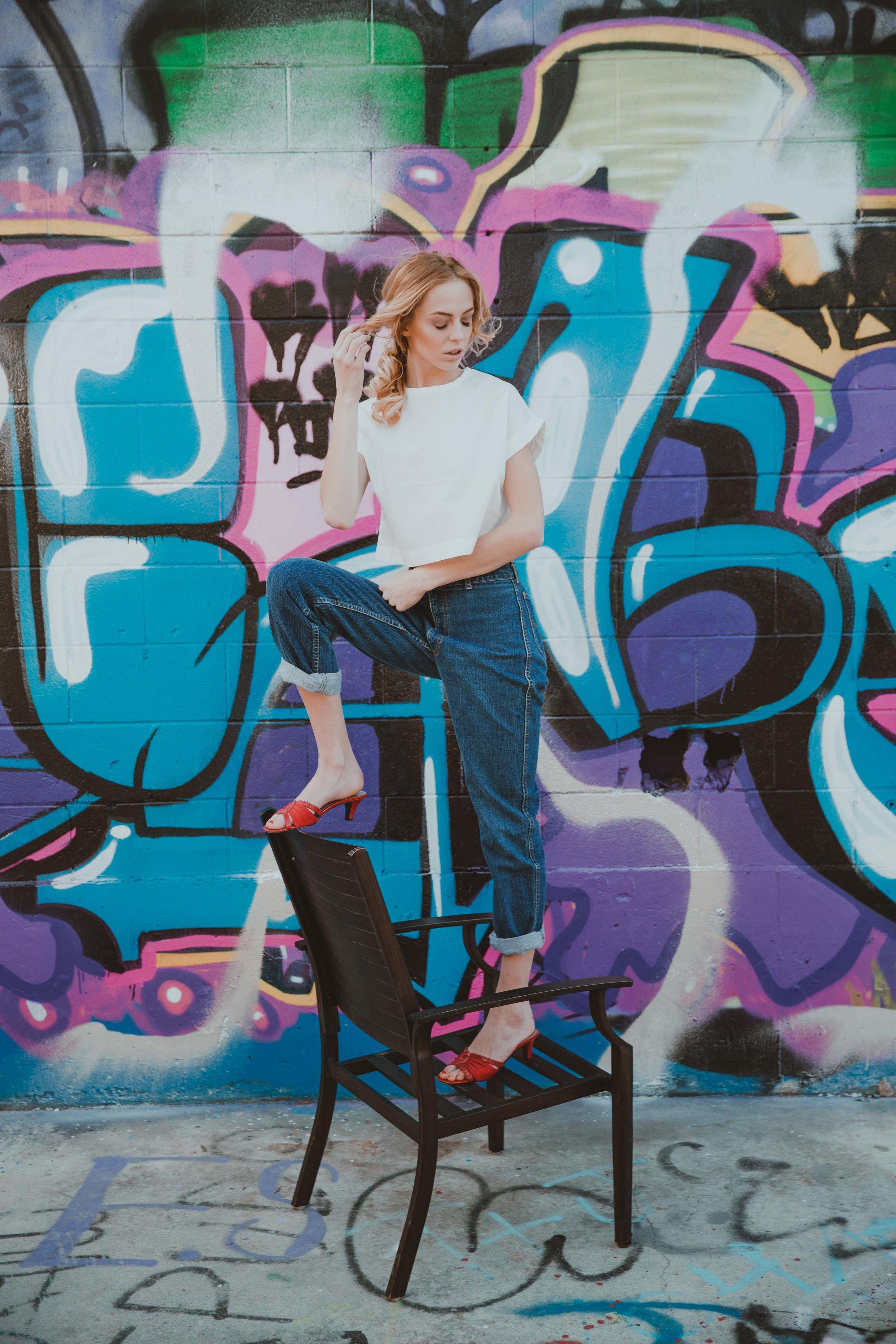 Cortni Gas Station Gh Photography Edmonton Photographers