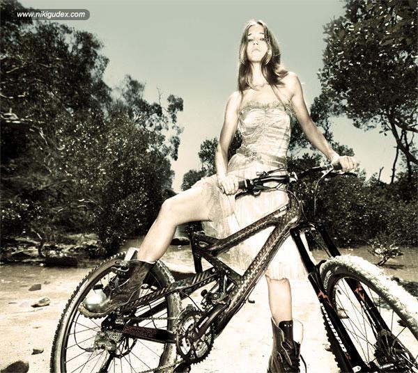 Niki Gudex photographed by Dean Tirkot for Alpha magazine.