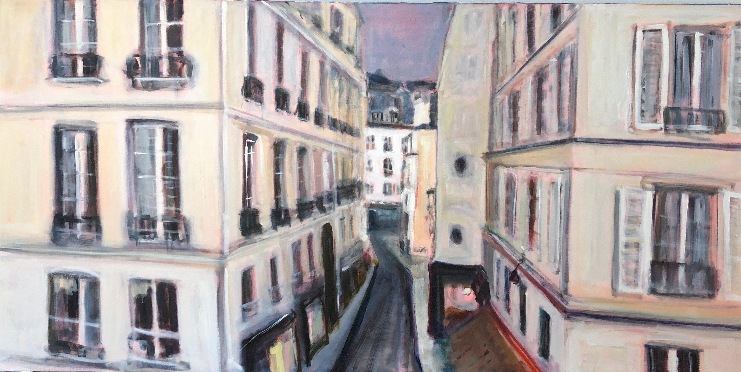 I can see Delacroix' studio
