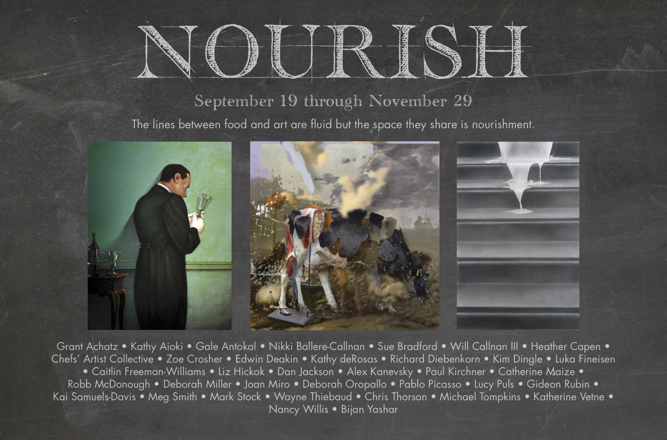 2015 Curatorial Project NOURISH at the Napa Valley Museum
