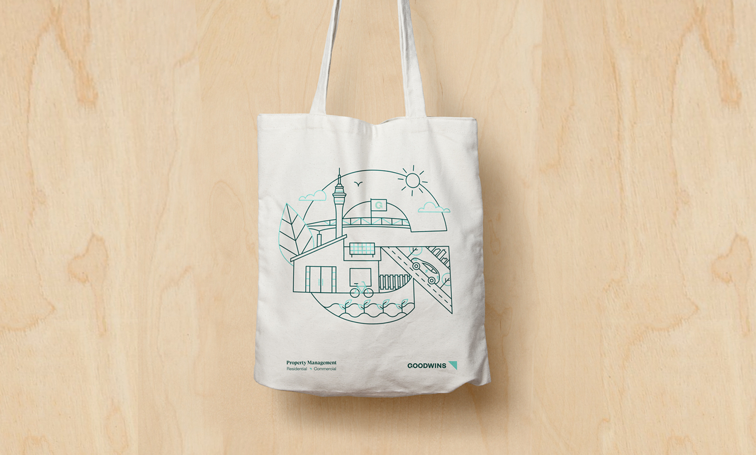 Goodwins Tote Bag Design