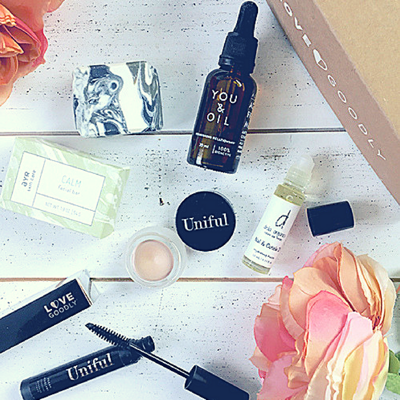 LOVE GOODLY - DISCOVER THE BEST NATURAL AND ECO BRANDS WITH THIS BOX