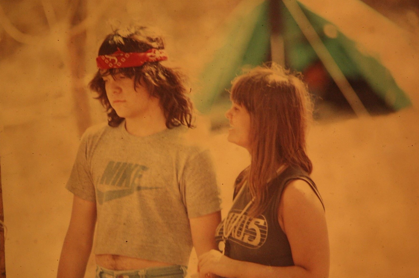 Carlos and Eliana, Summer 1983