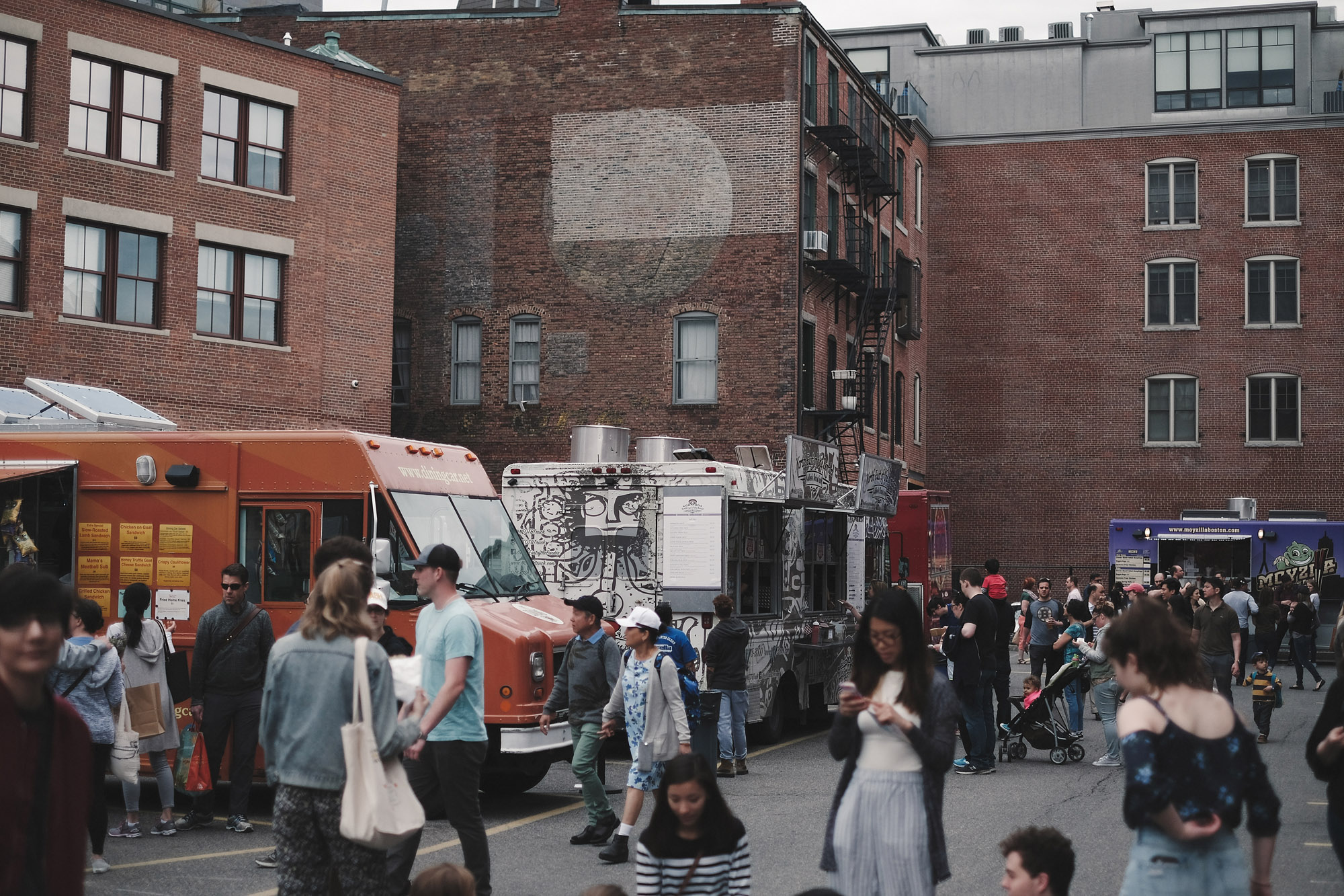 The food trucks get busy. Get there early (like I did) to avoid the lines.