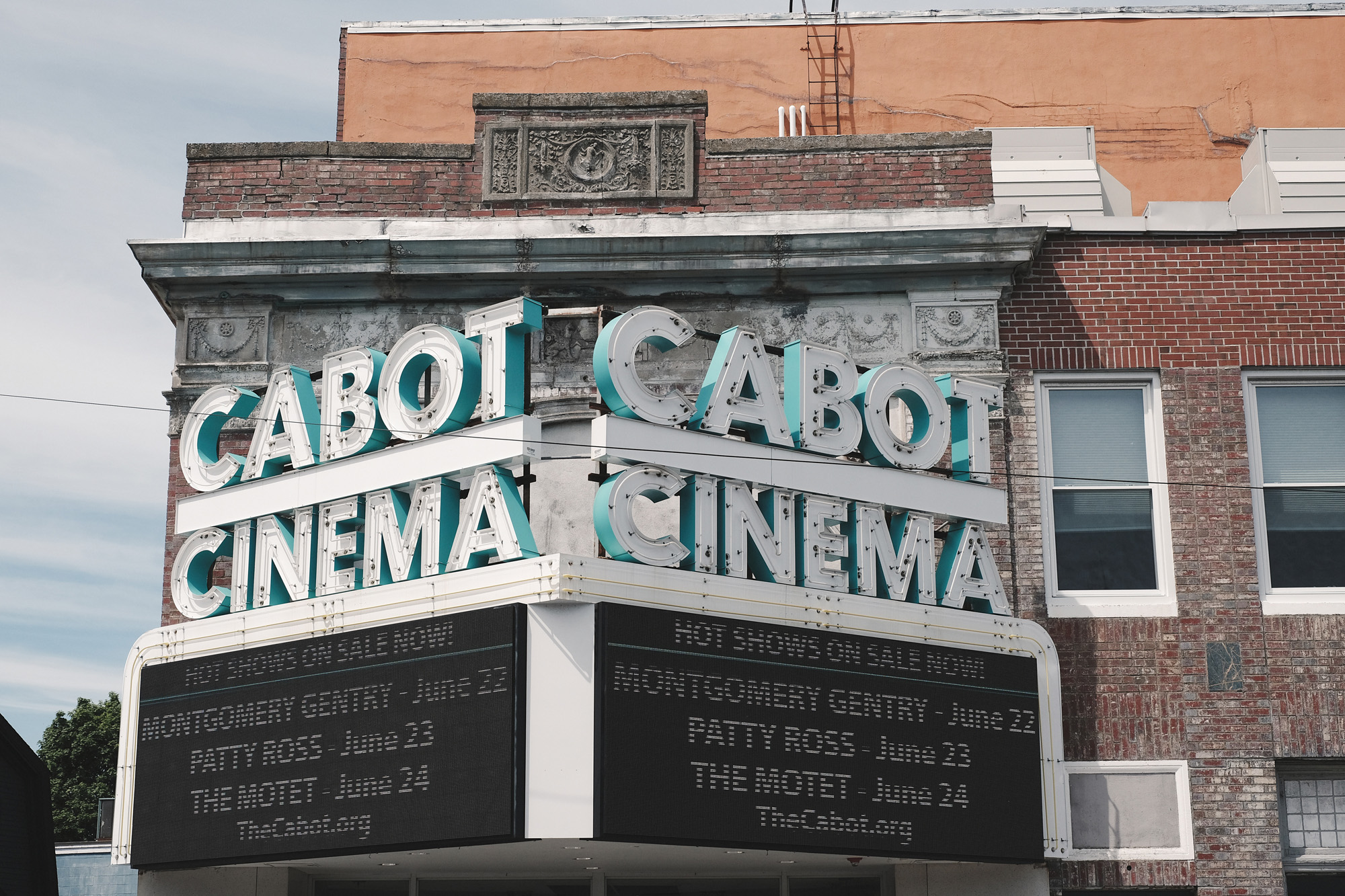 1920s art deco theatre... The Cabot