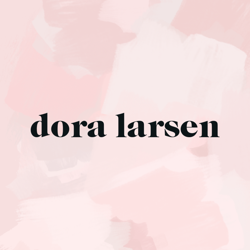 Dora Larsen - Designed the logo and branding for a colourful, contemporary lingerie company based in London.