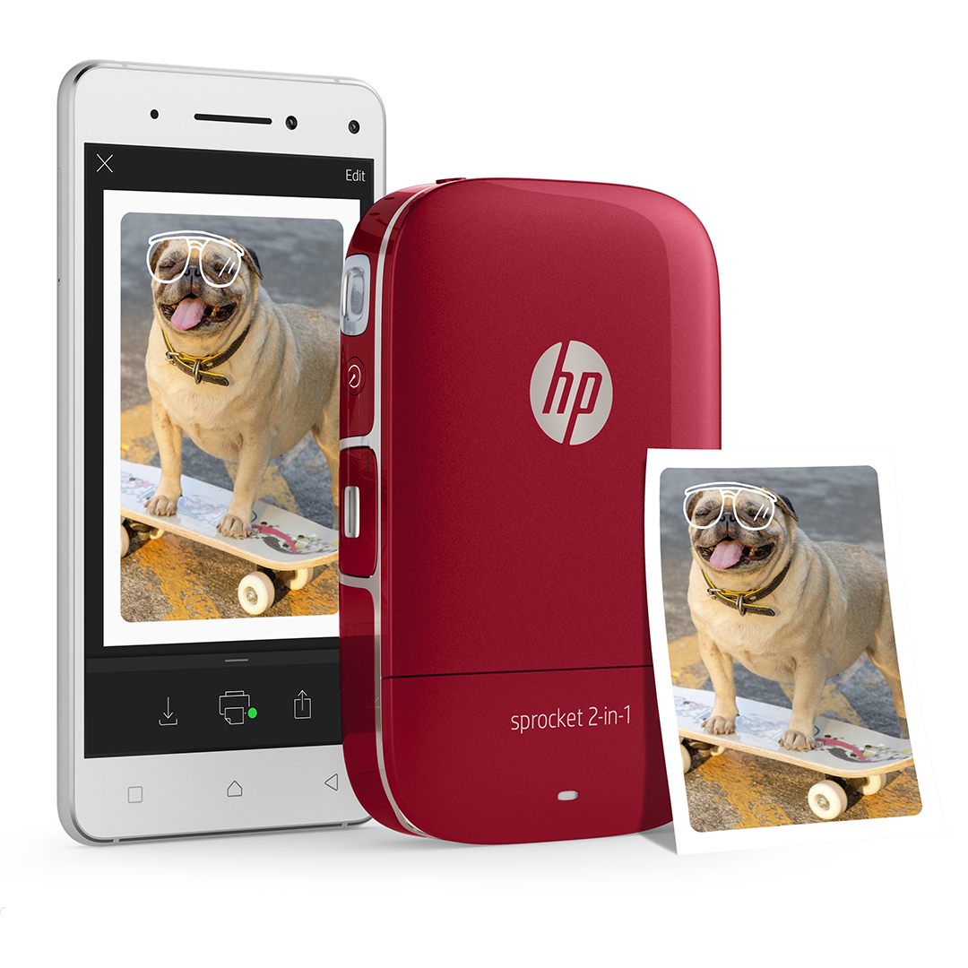 HP Sprocket - Designed the digital marketing campaign assets for HP's portable printer - HP Sprocket.