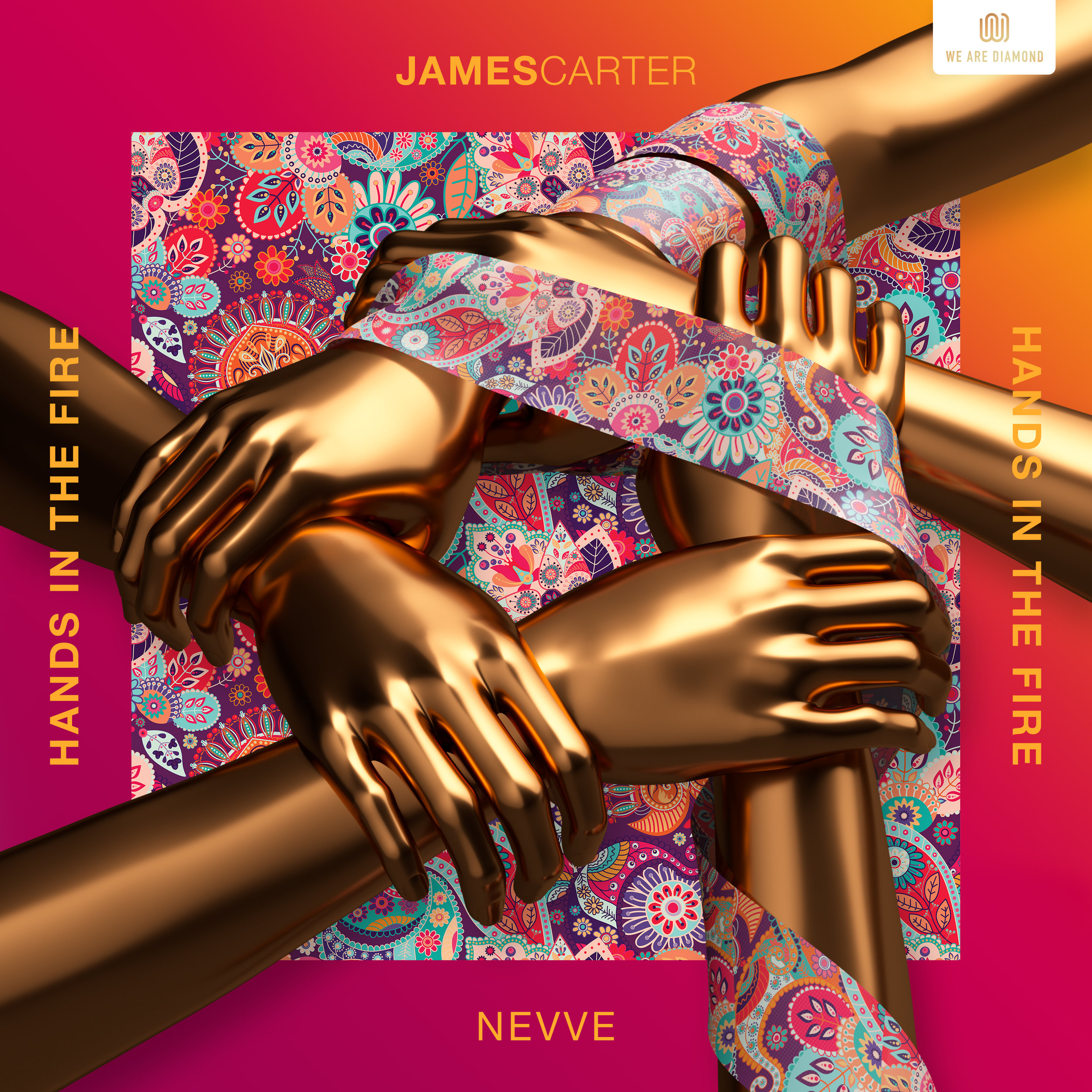 James Carter - Hands in the Fire