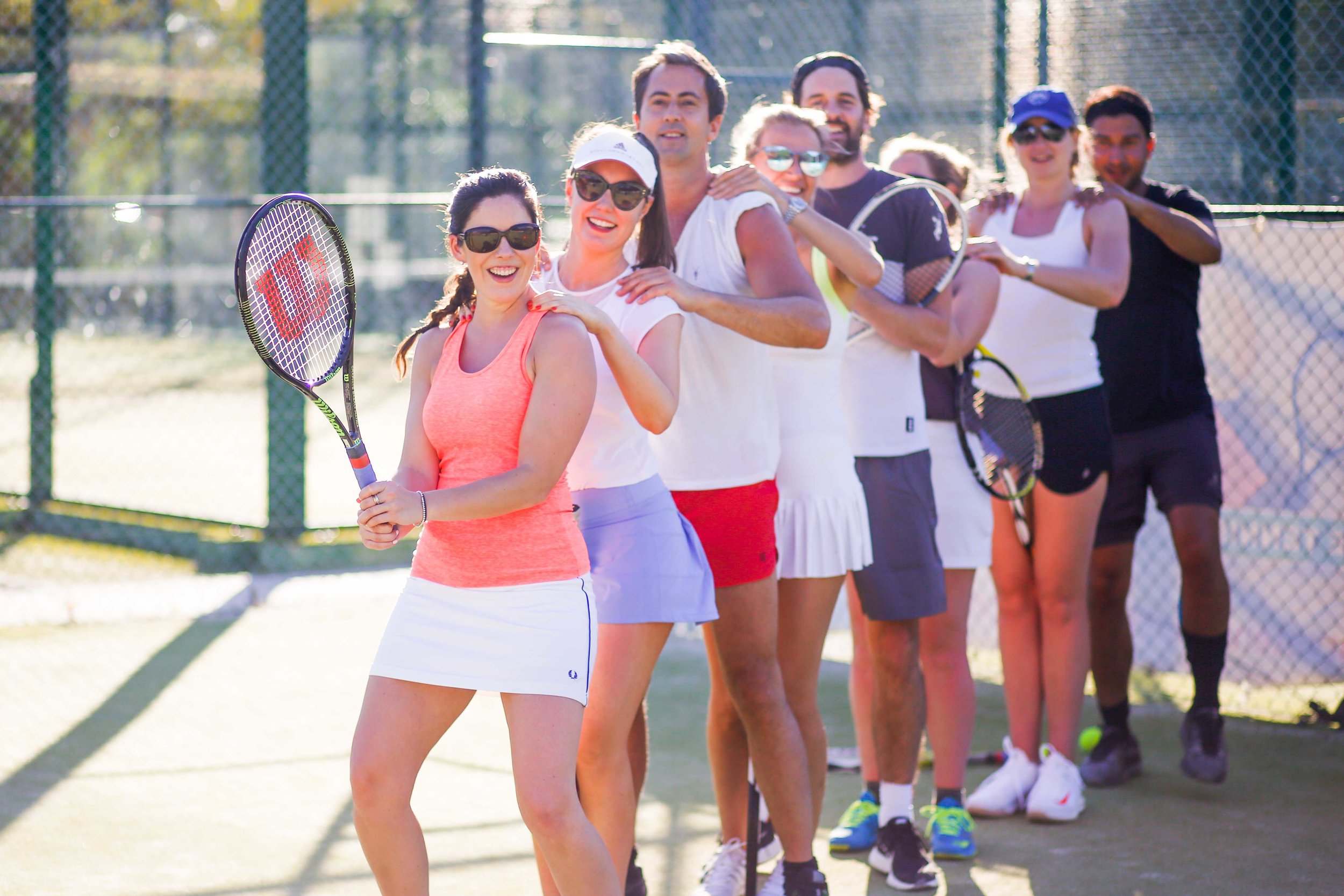- adult coaching for all standards and ages including the best workout you can have on a tennis court with cardio tennis!All sessions are run by lta licensed coaches with years of playing and coaching experience.please click on 'book' button to find out all prices and more information