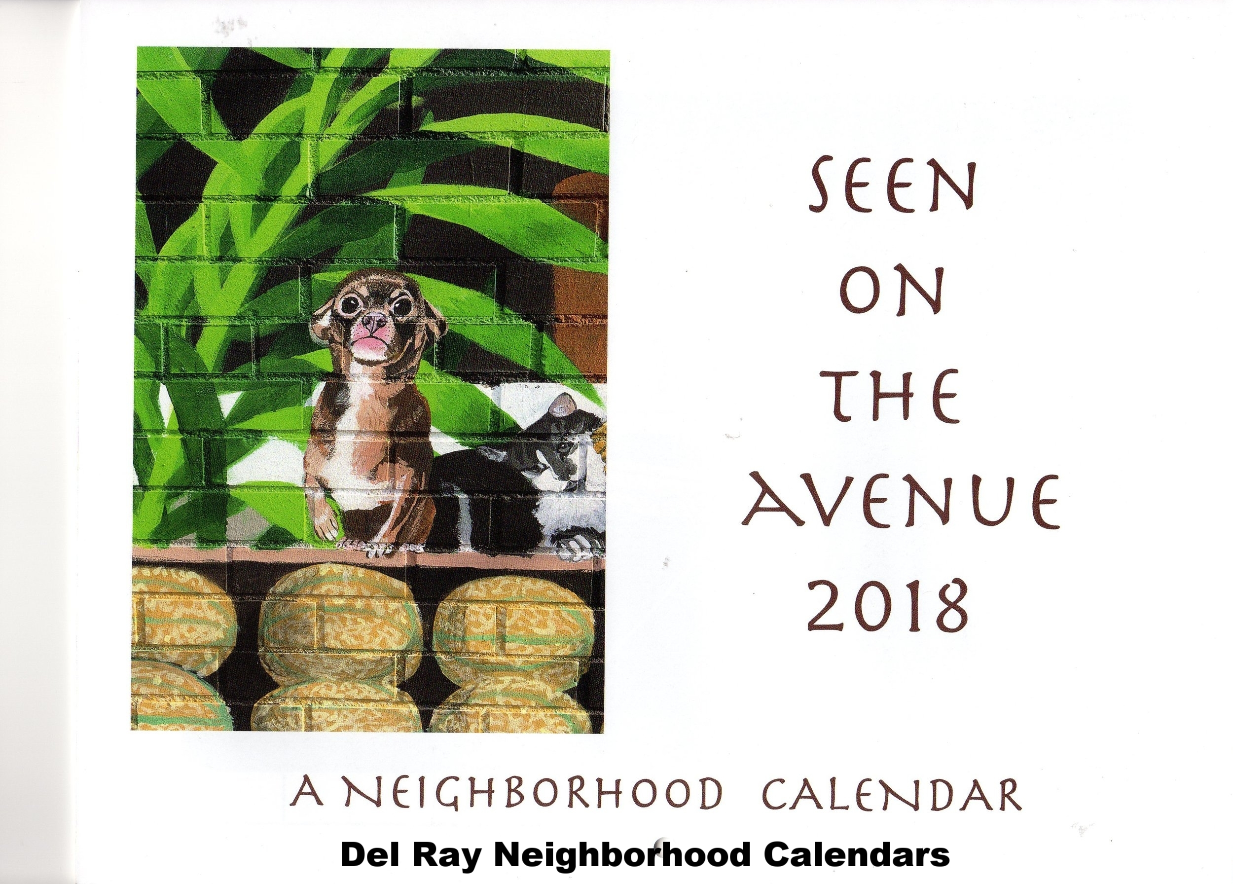 Del Ray Neighborhood Calendar